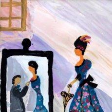Arte: MARIA SANMARTÍ - TÉCNICA MIXTA SOBRE PAPEL -. Lote 171997123