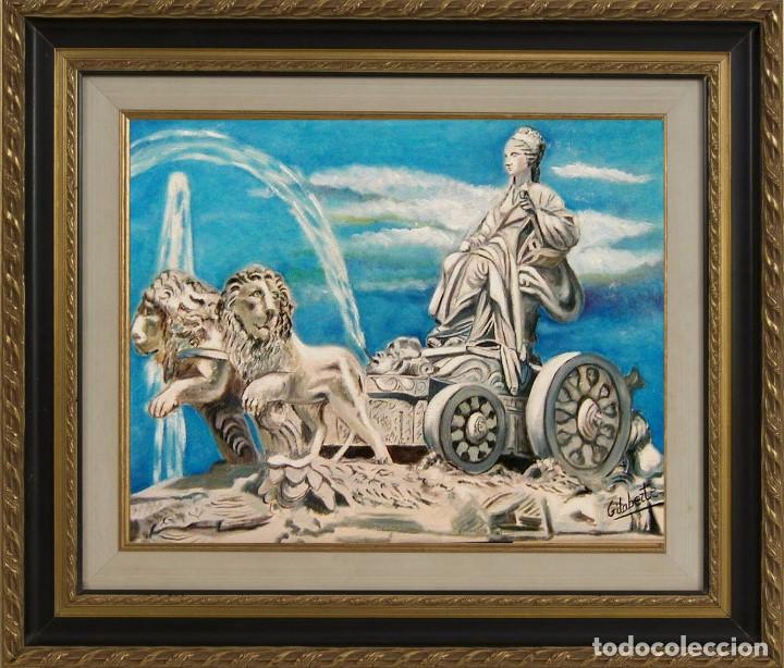 CIBELES OBRA DE GILABERTE INCLUYO MARCO (Arte - Pintura - Pintura al Óleo Contemporánea )