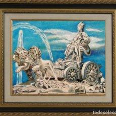 Arte: CIBELES OBRA DE GILABERTE INCLUYO MARCO . Lote 172014260