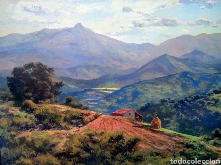ISIDRE ODENA DAURA (TERRASSA 1910 - 2008) ALREDEDORES DE SANT HILARI, MONTSENY. (Arte - Pintura - Pintura al Óleo Contemporánea )