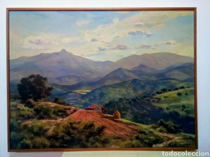 Arte: Isidre Odena Daura (Terrassa 1910 - 2008) Alrededores de Sant Hilari, Montseny. - Foto 2 - 172024413