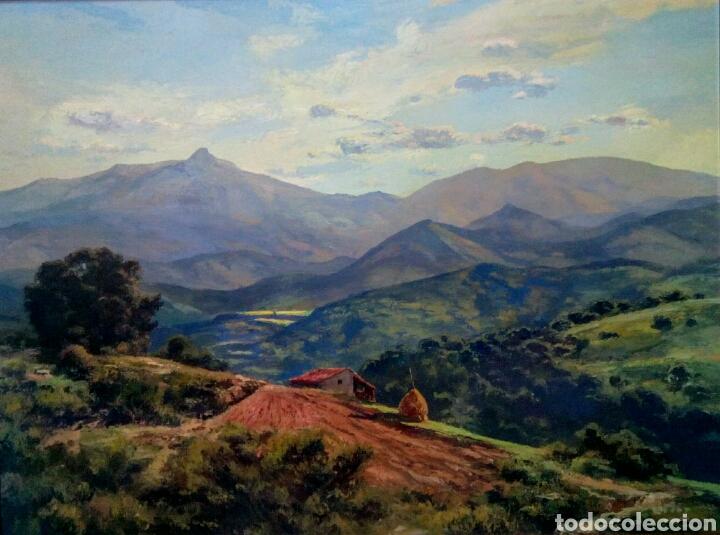 Arte: Isidre Odena Daura (Terrassa 1910 - 2008) Alrededores de Sant Hilari, Montseny. - Foto 5 - 172024413