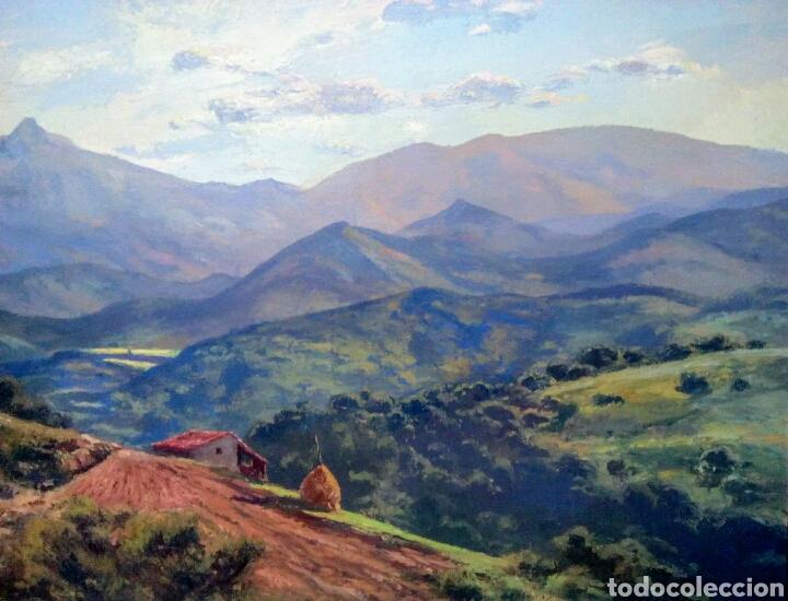 Arte: Isidre Odena Daura (Terrassa 1910 - 2008) Alrededores de Sant Hilari, Montseny. - Foto 7 - 172024413