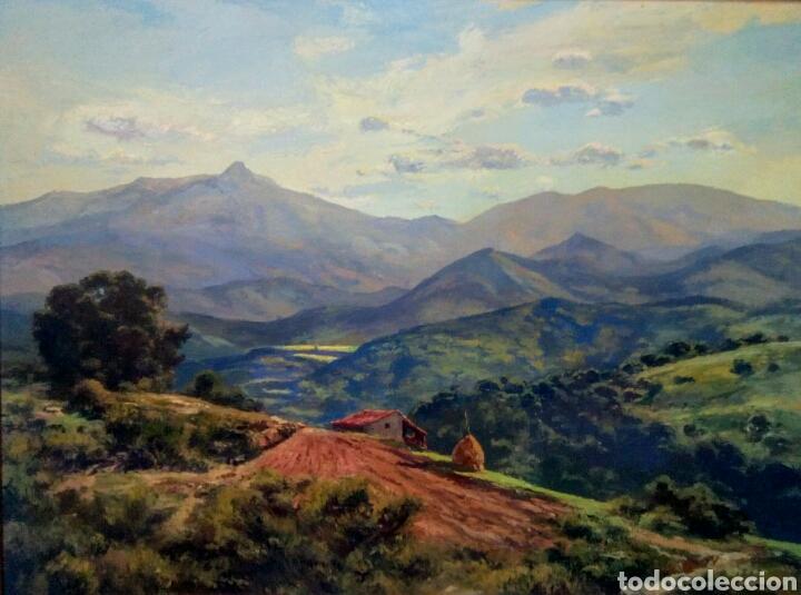 Arte: Isidre Odena Daura (Terrassa 1910 - 2008) Alrededores de Sant Hilari, Montseny. - Foto 11 - 172024413
