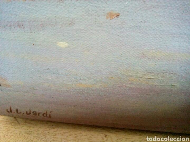 Arte: Óleo sobre lienzo de Juan Luis Jardi ( taberna Momir) Ohrid, República de Macedonia. - Foto 5 - 172032592