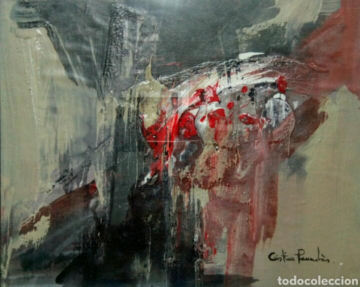 Arte: Lienzo sobre tablex de Cristina Penades. Técnica mixta. - Foto 2 - 172032750