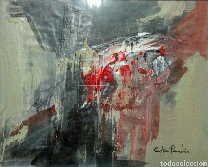 Arte: Lienzo sobre tablex de Cristina Penades. Técnica mixta. - Foto 3 - 172032750