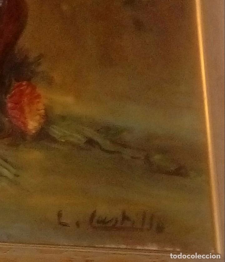 Arte: Escuela española L. Bustillo Florero - Foto 2 - 172068522