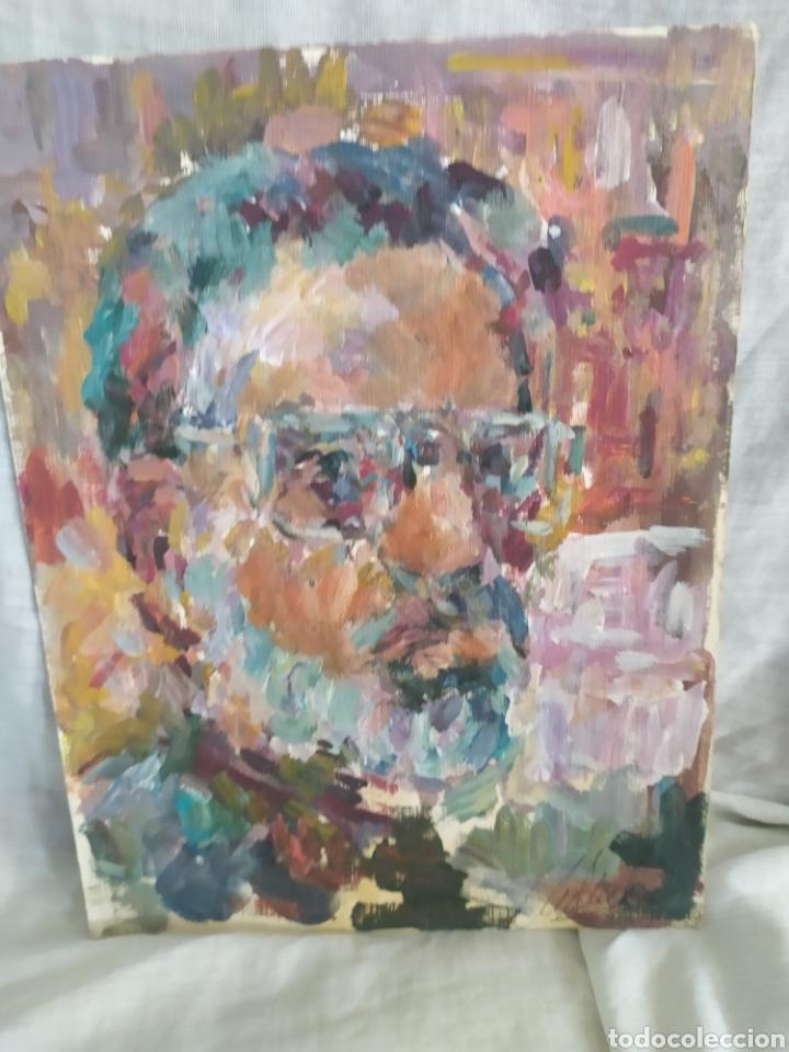 RETRATO DE HOMBRE ORIGINAL (Arte - Pintura - Pintura al Óleo Contemporánea )