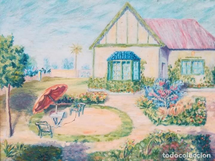PAISAJE FIRMADO FR (Arte - Pintura - Pintura al Óleo Contemporánea )