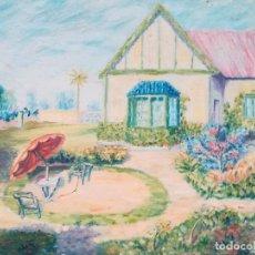 Arte: PAISAJE FIRMADO FR. Lote 172144900