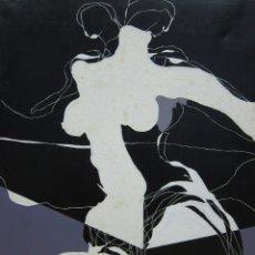 Arte: PINTURA EN GRAN FORMATO DE EDUARD MUNTADA - MUJER. Lote 172147305