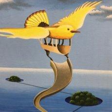 Arte: ESPERANDO EN ALGÚN LUGAR. Lote 172147323