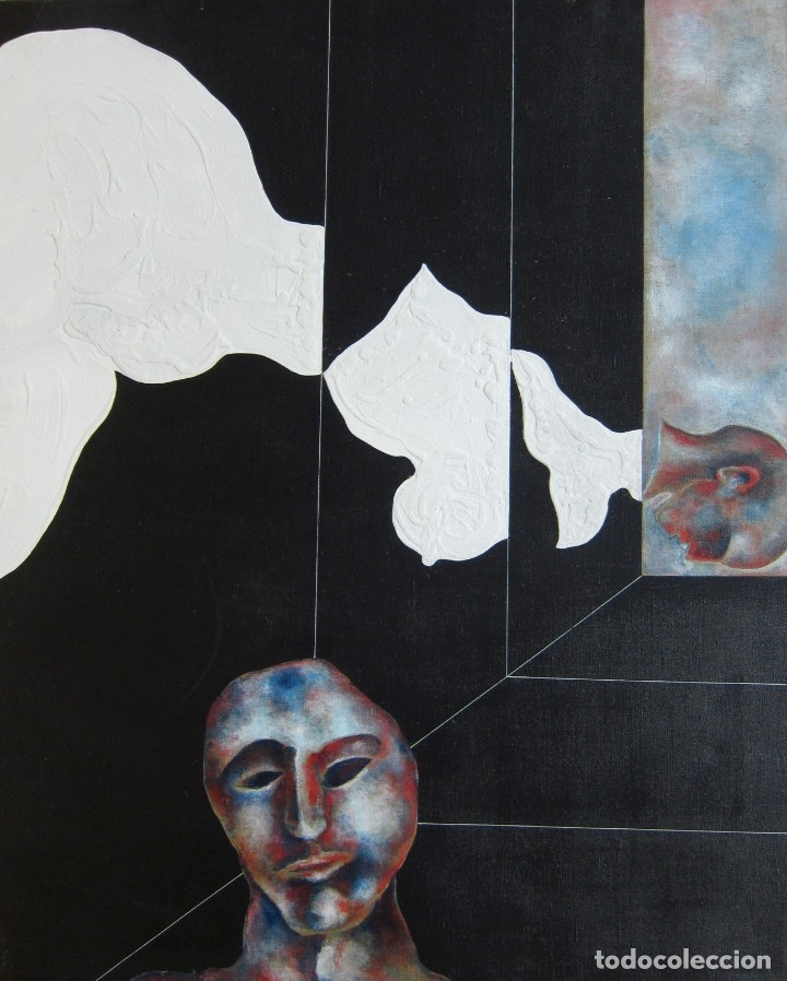 PINTURA EN GRAN FORMATO DE EDUARD MUNTADA (Arte - Pintura - Pintura al Óleo Contemporánea )