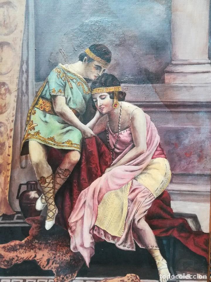 Arte: personaje con vestimenta romana firmado por Jose Quijada - Foto 2 - 172149132