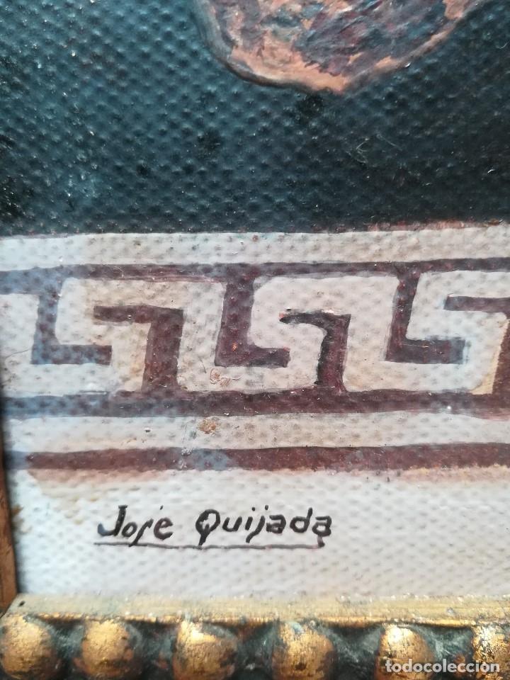 Arte: personaje con vestimenta romana firmado por Jose Quijada - Foto 3 - 172149132