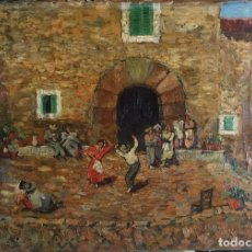 Arte: GUINART CANDELICH FRANCISCO (1888-1974).PINTOR ESPAÑOL. OLEO SOBRE TELA. Lote 172234073