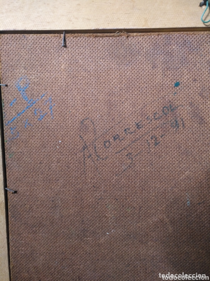 Arte: Arte. Óleo sobre tabla. Firmado bodegón. - Foto 4 - 172235765