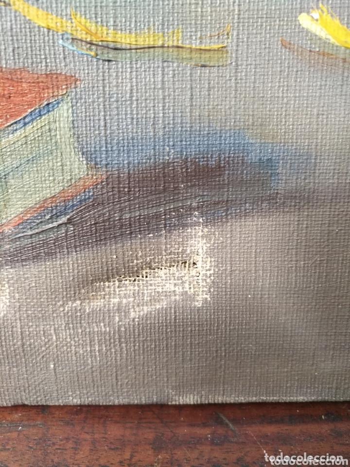 Arte: Arte. Óleo sobre lienzo. Firmado M Caralt Jarrón flores . - Foto 2 - 172237119