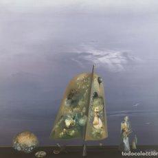 Arte: LUGRÍS VADILLO , URBANO ( VIGO,1942 - A CORUÑA,2018). AMANECER. ÓLEO SOBRE TABLA. Lote 172285167