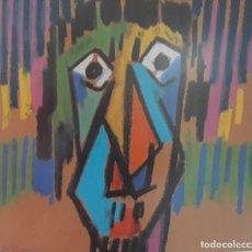 Arte: JORDI ROCA TUBAU (NACIDO EN RIPOLL / GIRONA ) DIBUJO A CERAS FIJADAS. Lote 172360884
