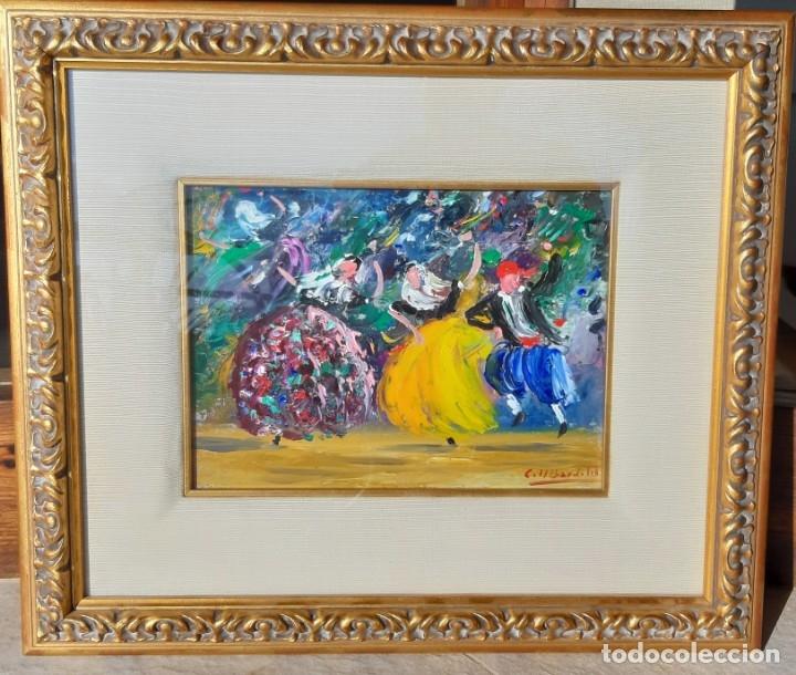 COLL BARDOLET - BALLADORS - (Arte - Pintura - Pintura al Óleo Moderna sin fecha definida)
