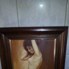 Arte: CUADRO OLEO SOBRE LIENZO, FIRMADO IZQUIERDO. Lote 172404462