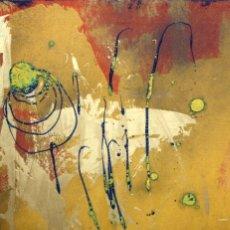 Arte: FIRMADO TRULLÀS. TECNICA MIXTA SOBRE LIENZO. ABSTRACCION. Lote 172615909