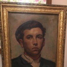 Arte: ÓLEO ANTIGUO 1900. Lote 172659029