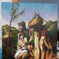 Arte: JOLOGA. ÁRABE ORIENTALISTA. LIENZO 100X81. CONQUISTA MORA.. Lote 125153755