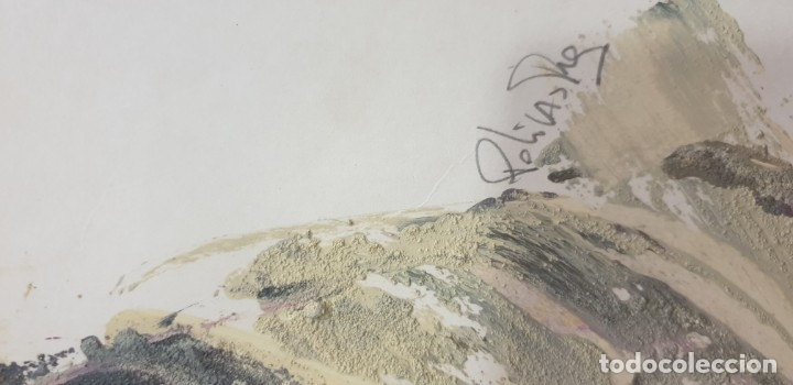 Arte: Pintor franco policastro tecnica mixta - Foto 2 - 172683183