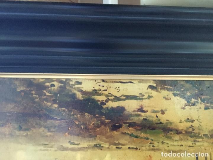 Arte: Oleo sobre lienzo finales S.XIX - Foto 2 - 172686318