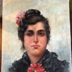 Arte: GARCÍA RAMOS JOSÉ (ATTRIB.) (1852-1912) PINTOR ESPAÑOL. OLEO SOBRE TELA. Lote 172788838