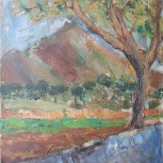 Arte: JOSEP M.RABAT I JUNCADELLA - PAISAJE IMPRESIONISTA.OLEO/TELA.FIRMADO.. Lote 126702920
