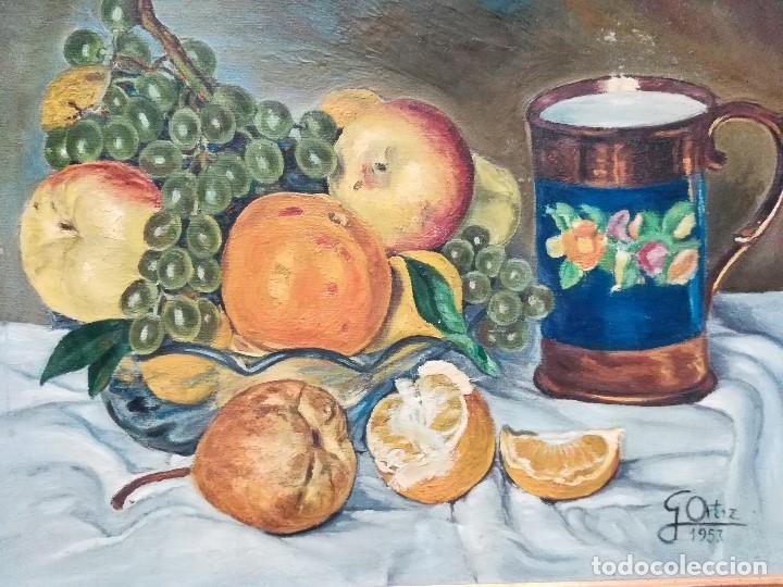Arte: Bodegon firmado por G.Ortiz - Foto 2 - 172823835