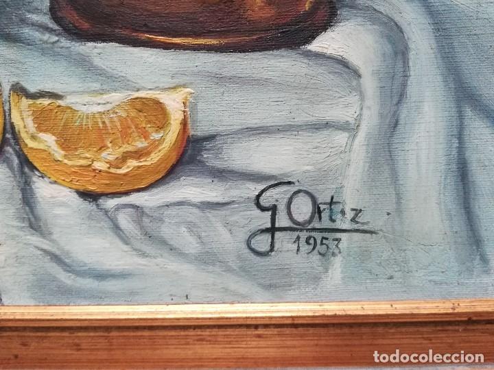 Arte: Bodegon firmado por G.Ortiz - Foto 3 - 172823835