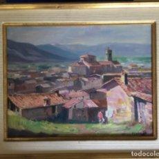 Arte: ÁNGEL CODINACH, PAISAJE 42X38 CMS. Lote 172851369