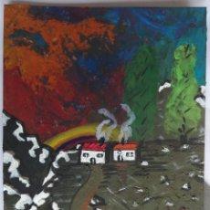 Arte: ANTONI MARTÍ (SEUDONIMO) - OLEO SOBRE CARTÓN - 25 X 20. Lote 96836999