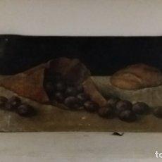 Arte: ANTIGUO Y BONITO OLEO S. XIX LIENZO SOBRE CARTON. Lote 193860396
