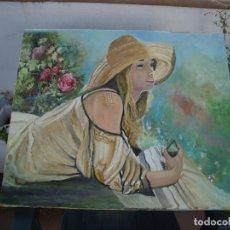 Arte: MAGNIFICA COPIA AL OLEO DEL PINTOR MIRALLES. Lote 172905595
