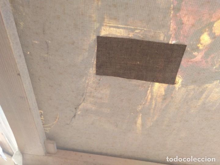 Arte: De Mora, gran óleo con marco extra - Foto 6 - 172939682