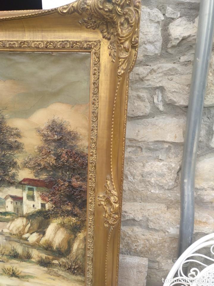 Arte: De Mora, gran óleo con marco extra - Foto 7 - 172939682
