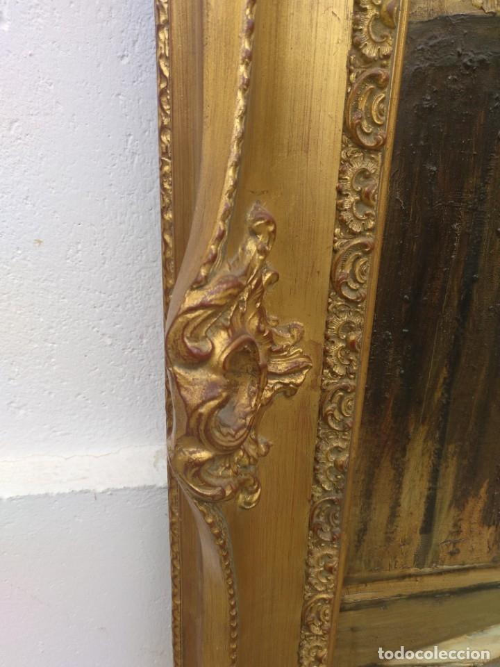 Arte: De Mora, gran óleo con marco extra - Foto 9 - 172939682