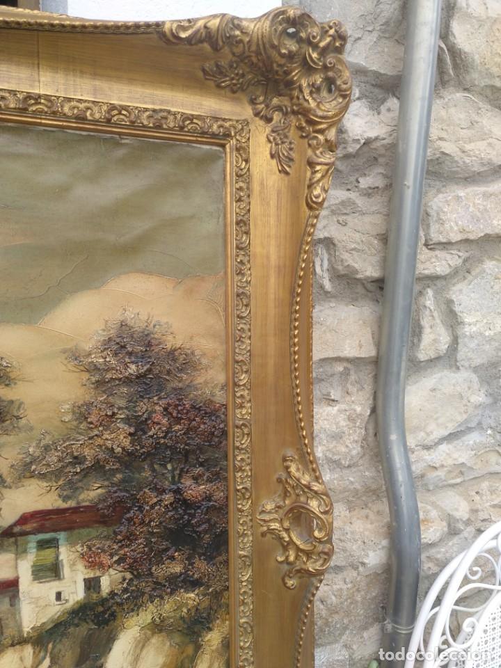 Arte: De Mora, gran óleo con marco extra - Foto 11 - 172939682
