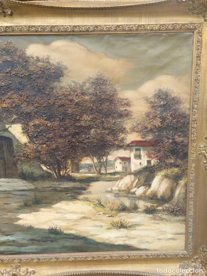 Arte: De Mora, gran óleo con marco extra - Foto 12 - 172939682
