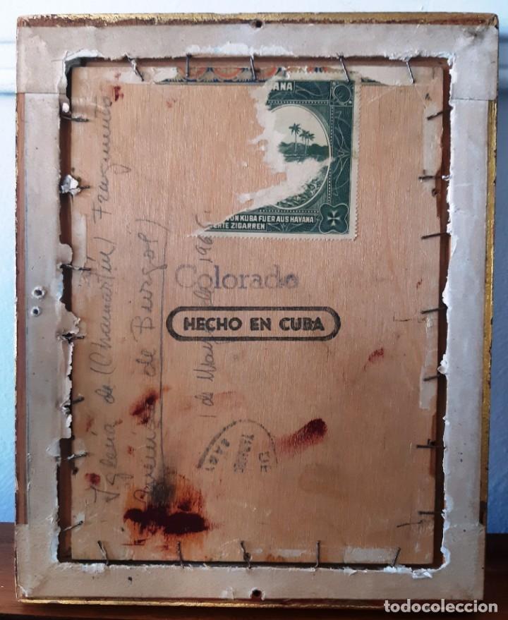 Arte: Iglesia de San Miguel de Chamartín. Óleo sobre tabla firmado y fechado en 1965 - Foto 5 - 172947438