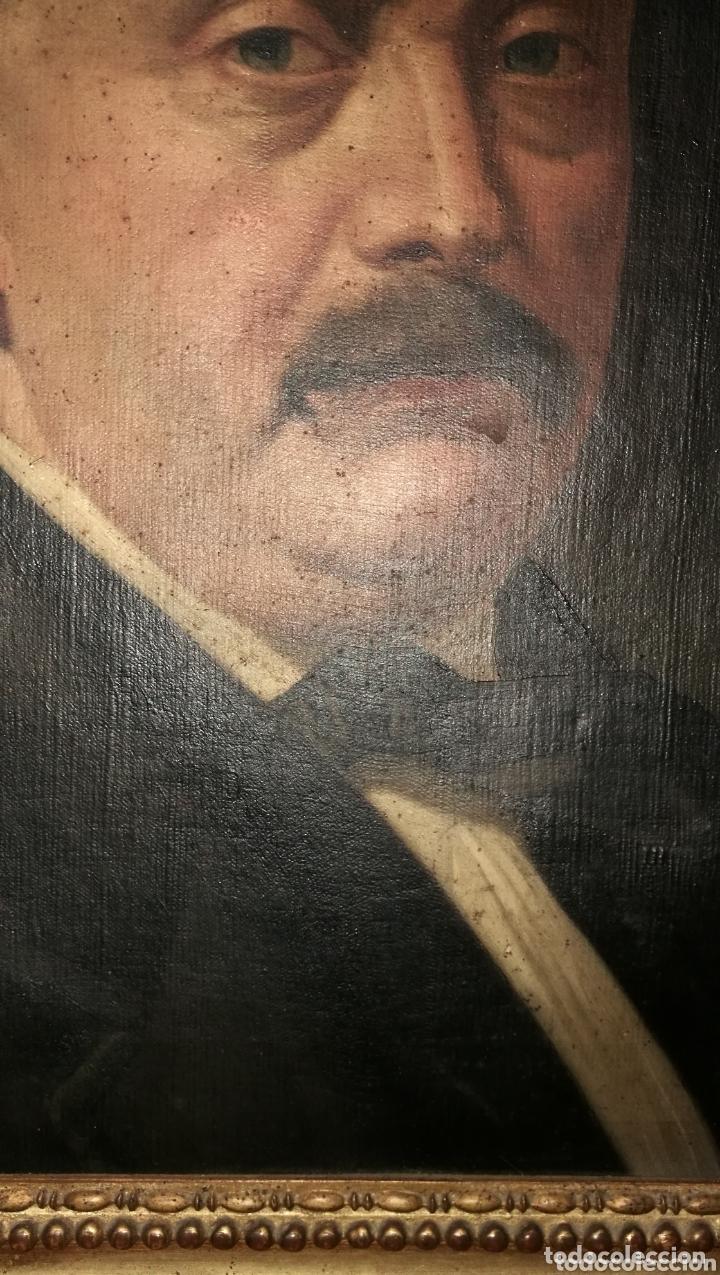 Arte: ANTIGUA PINTURA AL OLEO SOBRE LIENZO - Foto 5 - 172961309