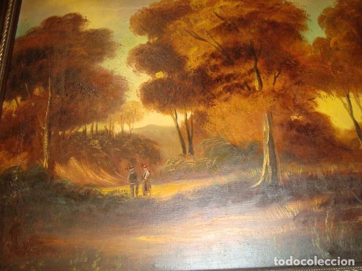 Arte: pintura paisajistica , bien logrado . oleo sobre lienzo - Foto 2 - 173061944