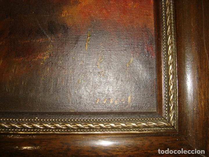 Arte: pintura paisajistica , bien logrado . oleo sobre lienzo - Foto 3 - 173061944