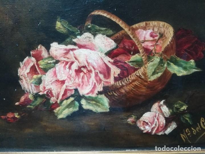 Arte: Bodegon con flores - Foto 2 - 173121629